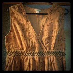 Garnet Hill NWOT party dress